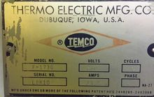 THERMO ELECTRIC MANUFACTURING C