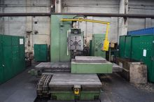 Horizontal boring and milling m