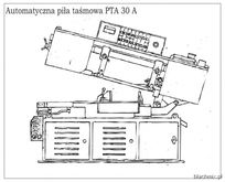 Automatic band-saw PTA 30 A