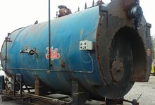 800 HP Used Hurst Boiler