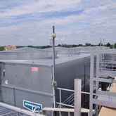 1570 Ton Used Evapco Cooling To