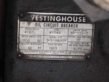 1200 Amp, WESTINGHOUSE, F124A,