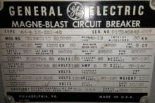 1200 Amp, GENERAL ELECTRIC, AM4