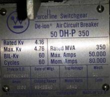 1200 Amp, WESTINGHOUSE, 50DHP35