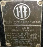 600 Amp, ITE, K-DON 600, 480 V.