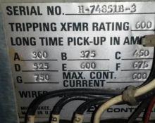 600 Amp, ALLIS CHALMERS, LA-600
