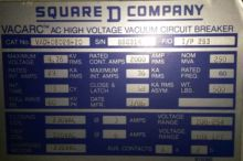 2000 Amp, SQUARE D, VAD-05025-2