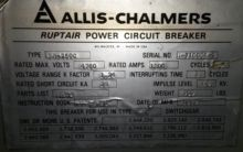 1200 Amp, ALLIS CHALMERS, MA250