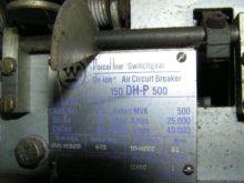 2000 Amp, WESTINGHOUSE, 150DH-P