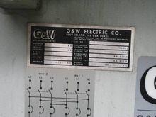 600 Amp, G & W PUFFER VACUUM IN