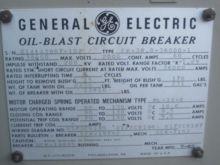2000 Amp, GENERAL ELECTRIC, FK-