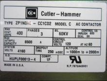 400 Amp, 4160 Volt, CUTLER HAMM