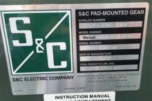 600 Amp, S&C, No. PMH-9, 15 V.,