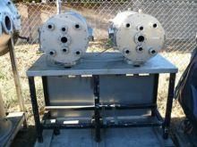 Twin H2O SS High vacuum chamber