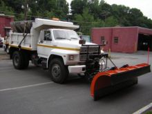 Ford, No. F800, Dump Truck with