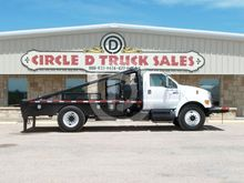2011 FORD F650 WINCH TRUCK
