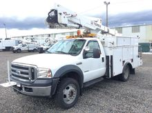 2007 Ford F550 4x4