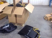 Pallet of bucket covers (2) box