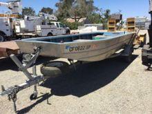 2004 Klamath 15' Aluminum Boat,