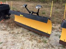 Meyer 8' snow plow, with lift p