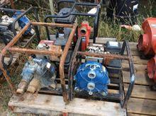 """(3) 2"""" water pumps, gas engine"""