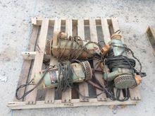 (3) Submersible Pumps