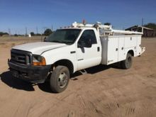 2001 Ford F550 4x4