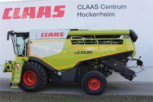 2016 CLAAS LEXION 740