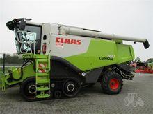 2013 CLAAS LEXION 760TT
