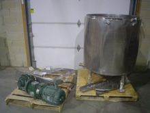 195 US Gallon Stainless Steel T