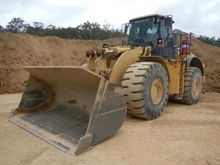 2011 Caterpillar 980H Wheel Loa