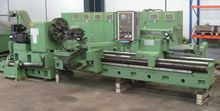 1989 CNC Lathe with sliding hea