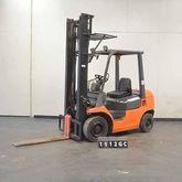 2004 TOYOTA 62-7FDF25 Forklift