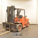 2002 NISSAN VF05H50U Forklift t