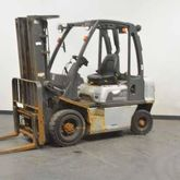 2007 NISSAN Y1D2A25Q Forklift t