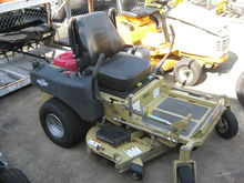 ACCU ZR52 ZTM Zero Turn Mower