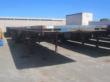 1988 NO LIST TRI AXLE FLAT TOP