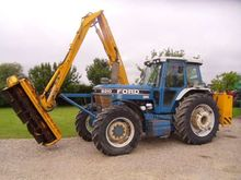 Ford 8210 C/w Herder BK135S Hed