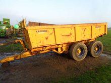 R M Clough 14 Tonne Dump Traile