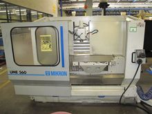 MIKRON UME 560 CNC bed type mil