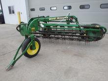 Used JD 672 Hay Rake