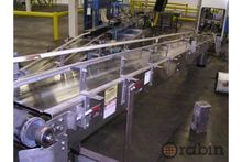 Inclined mobile conveyor frame