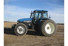 2001 NH TM150 tractor FWA front