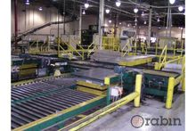 Power roller/chain pallet conve