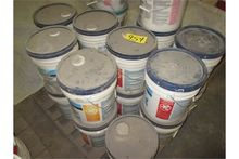 (21) 5-gallon pails, sheet rock