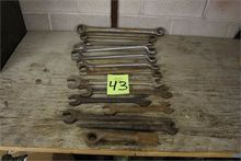 Lot of Heavy Duty Wrenches