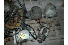Motors. (4) Motors & (1) Coolan