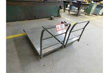 (2) Global Metal Shop Carts