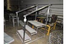 Stainless Steel Steps work Plat