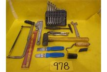 Tools: (1) metric wrench set wi
